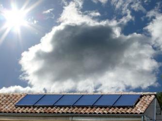 Production eau chaude par panneaux solaires